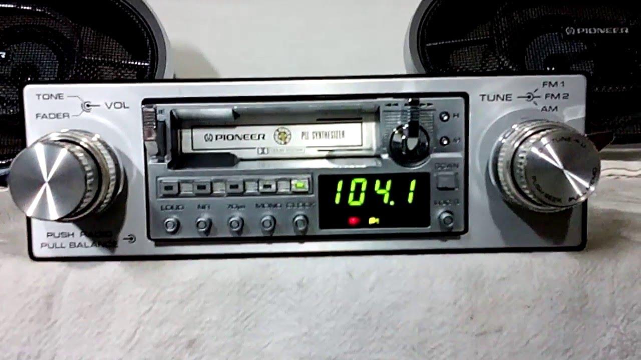 oldschool/vintage Pioneer car stereo | DiyMobileAudio.com Car Stereo ForumDiyMobileAudio.com Car Stereo Forum