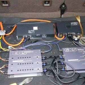 Audio Control EQS & 6XS Arc Audio XDI Amplifiers 1100.1 and 450.4